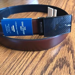 NWT Reaction Kenneth Cole Men's Brown Belt